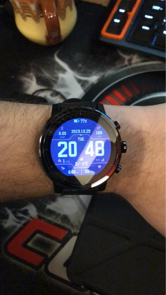2019 New Amazfit Stratos+ Flagship Smart Watch Genuie Leather Strap Gift Box Sapphire 2S-in Smart Watches from Consumer Electronics on AliExpress