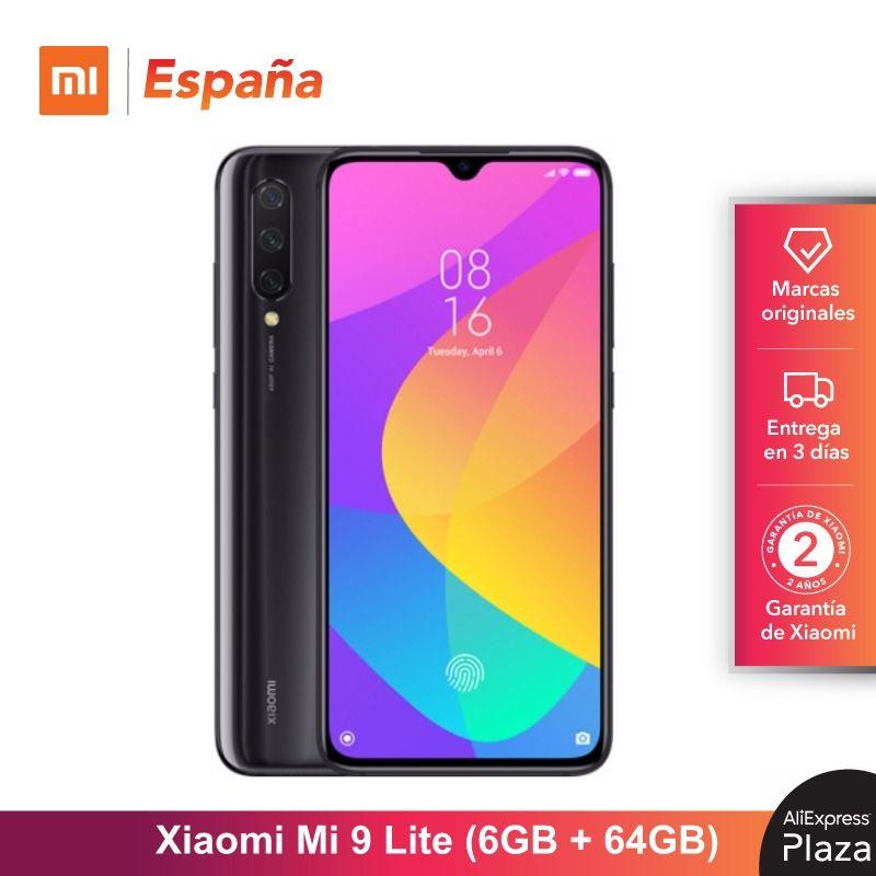 [Global Version For Spain] Xiaomi Mi 9 Lite (Memoria Interna De 64GB, RAM De 6GB, Selfies De 32 MP Y Triple Cámara De 48 MP)