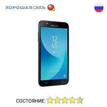 Телефон Samsung J701F/DS Galaxy J7 Neo 16Gb, уцененный, б/у, Отличное Состояние