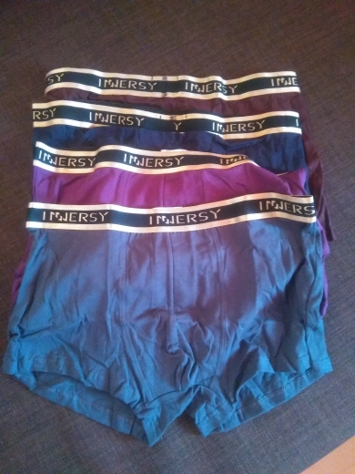Innersy Panties Mens 4Pcs\lot Underwear Soft Boxers Modal Boxer Men Solid Boxer Shorts Plus Size Boxers Mens Underwear Lot boxer shorts men underwear lotpanties men - AliExpress