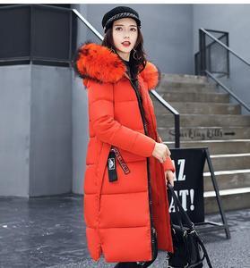 Image 4 - Женское высококачественное пальто Hiver, длинное платье, 2019