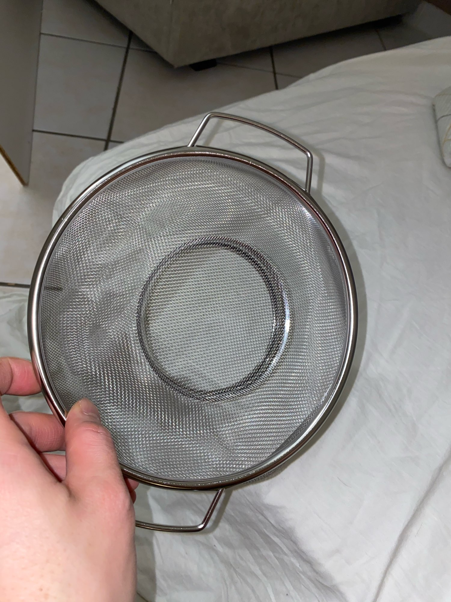 Kitchen Stainless Steel Cookware Colander photo review