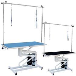 Table Hydraulic for peluqueías dog and centers veterinary color Black