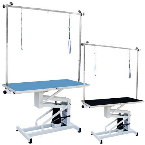 Table Hydraulic For Peluqueías Dog And Centers Veterinary Color Blue