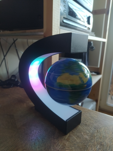 LED Lamp Magnetic Floating Globe photo review
