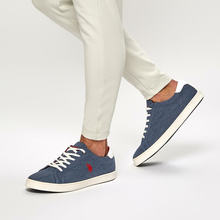 FLO POST Navy Blau Herren Sneaker Schuhe US POLO ASSN.()