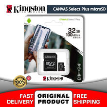 Micro SD Speicher Karte 32 Gb Kingston SDHC Leinwand Wählen Plus SDCS2 32 GB 100R A1 C10 Android Geräte Telefon microSD mit SD Adapter