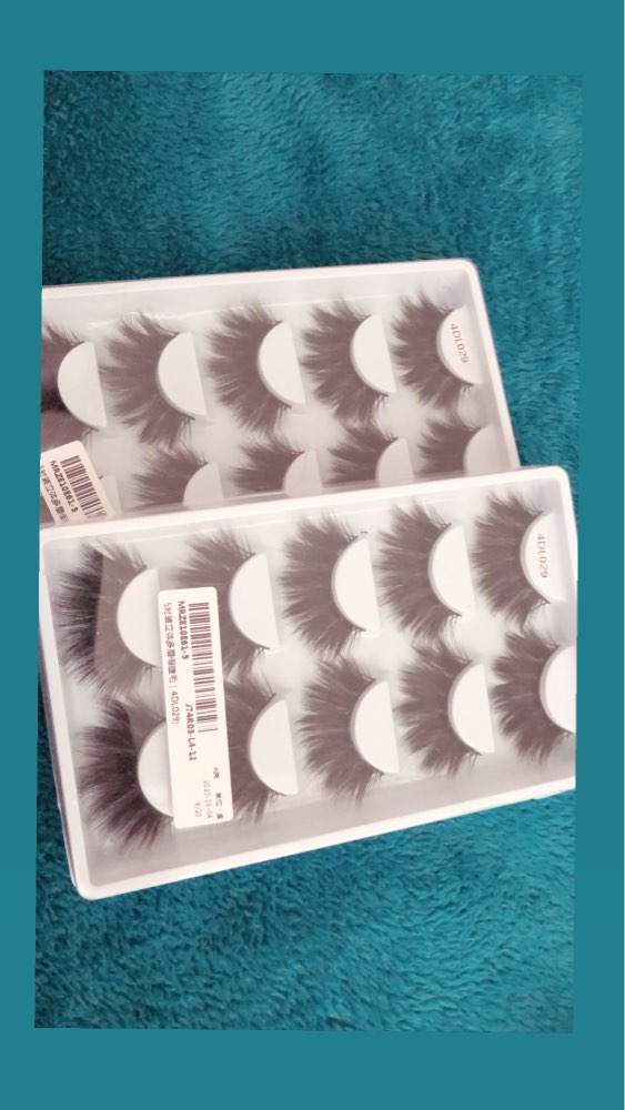5Pairs/Set Faux Mink Hair False Eyelashes Wispy Criss-cross Fluffy Thick Natural Handmade Lash Cruelty-free Eye Makeup Tools