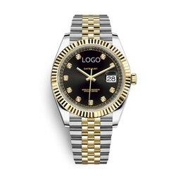Женские часы, женские модные часы Rolexable, дизайнерские женские часы, роскошные брендовые кварцевые золотые наручные часы с бриллиантами, под...