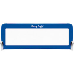 Barriere für Baby krippe Sicher 180х42, Blau