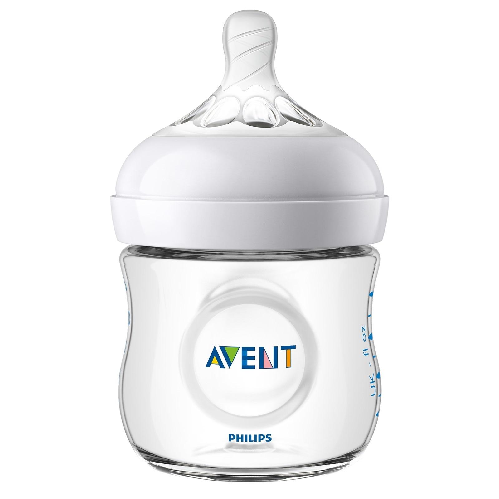 Ebebek Philips Avent SCF030/17 Natural PP Baby Bottle 125 Ml