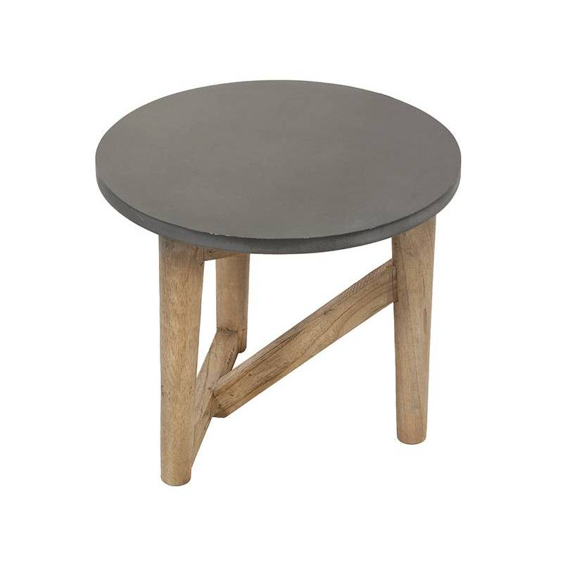 Side Table (40x40x35 Cm) Wood Mindi
