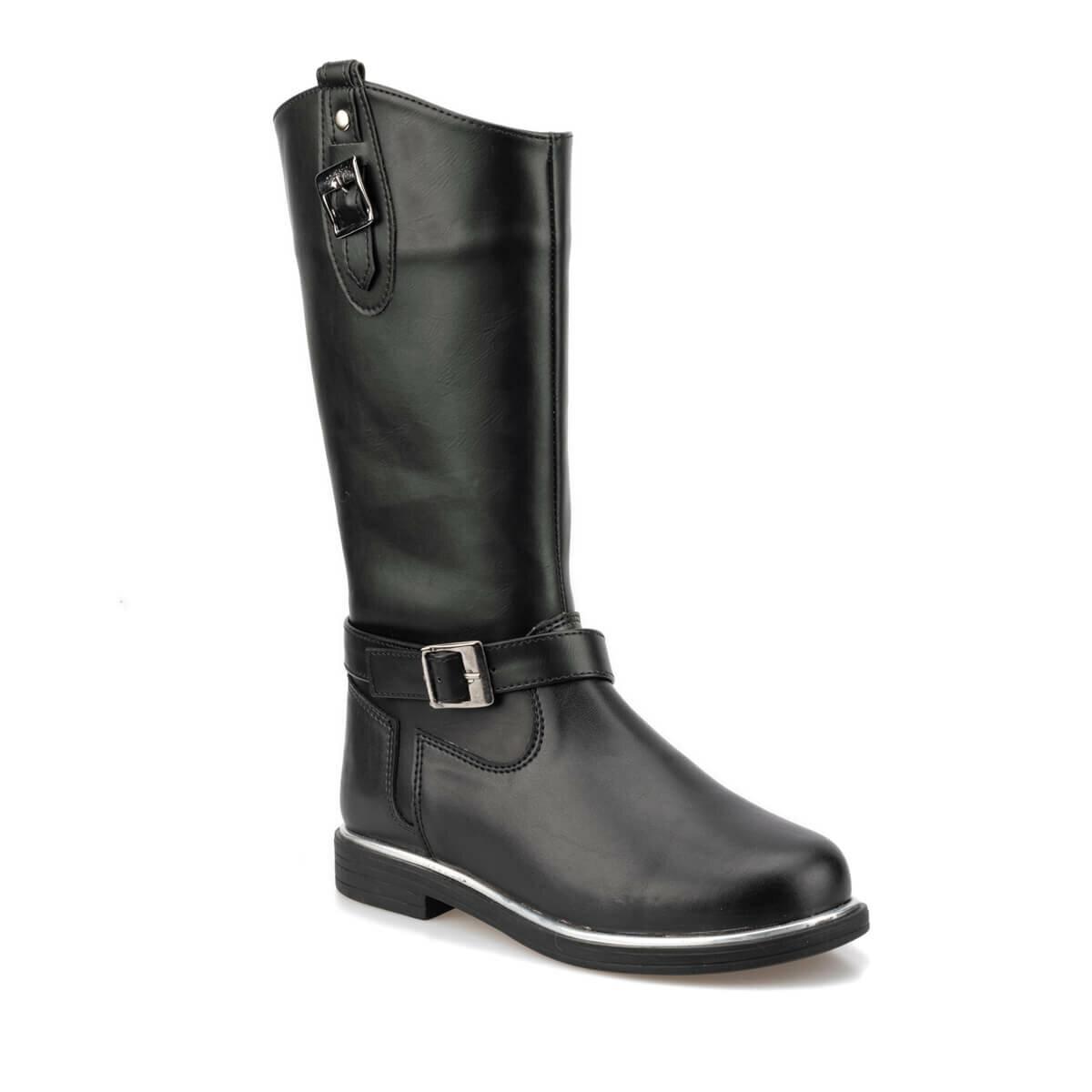 FLO 92.511825.F Black Female Child Boots Polaris