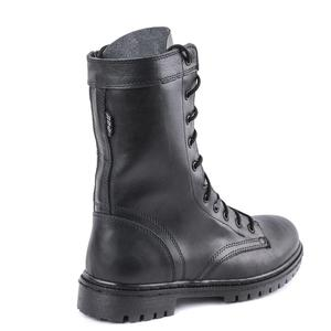 demiseason army ankle boots black leather laces and zipper hiking sport man shoes 0051/11 WA