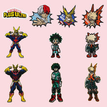 Geborduurde Patches Mijn Hero Academia Sd Deku Anime Alle Misschien Katsuki Bakugo Japan Anime Stickers(China)