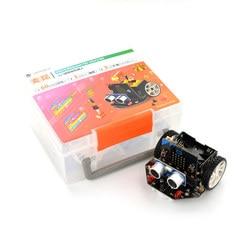 DFRobot micro: Maqueen micro:bit programowanie edukacyjne platforma robotów Smart car V4.0 linia wsparcia patrol oświetlenie otoczenia