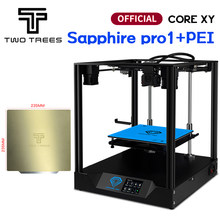 Twotrees 3D Drucker Sapphire Pro Drucker CORE XY BMG Extruder Corexy Pro DIY Kit TMC2208 MKS Farbe Touch Screen mit PEI paket