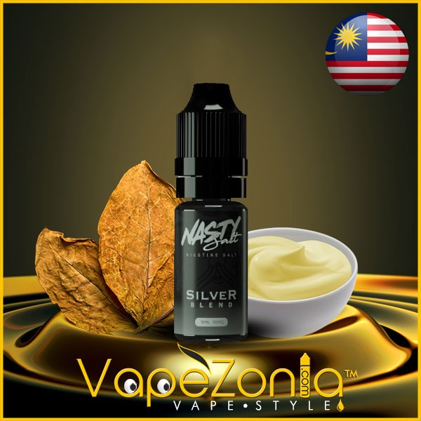 Nasty Salt SILVER BLEND 10 Ml Vape Shop Valencia