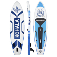Comparar https://ae01.alicdn.com/kf/U62025f0131ca472ab99bb735c74adb36l/Tabla de Paddle Surf Sunshine Color Blanco y Azul Tipo Beginner Capacidad Máxima 120 kg Aletas.jpg