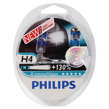 PHILIPS 12342XV + S2 H4 12 V-60/55 W (P43t) (+ 130% light) x-treme Vision (2 pcs) 37668