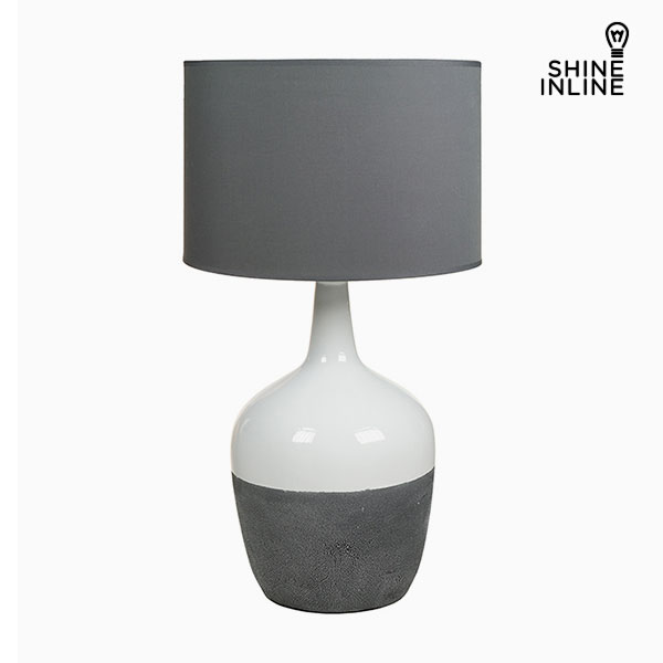 Desk Lamp White Grey By Shine Inline