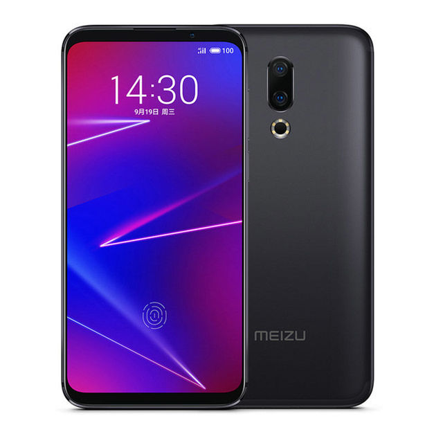 Global ROM Meizu 16X 6.0 Inch 4G LTE Smartphone Snapdragon 710  Dual Rear Cameras Android 8.1 In-Display Fingerprint Full Screen 3