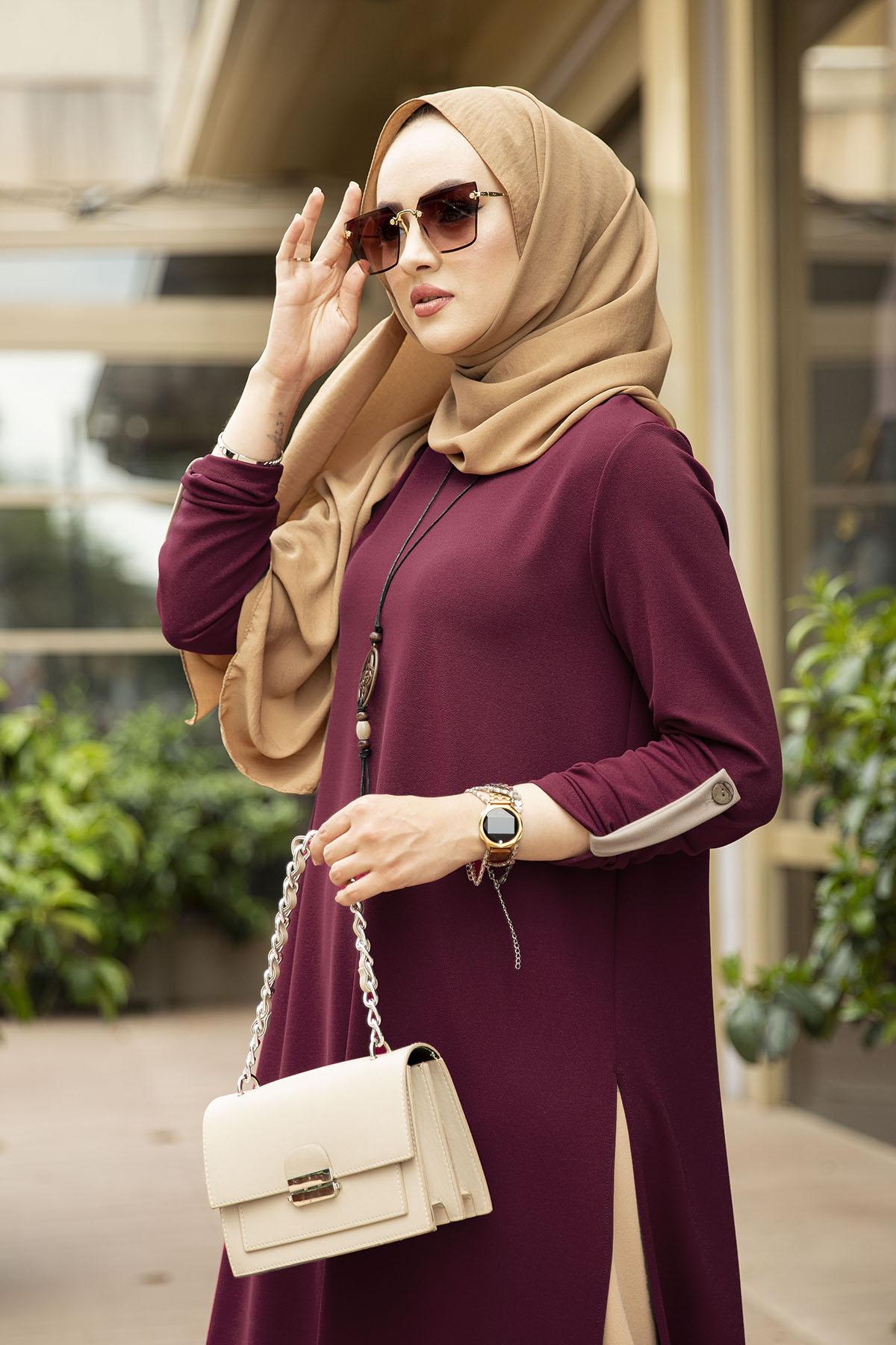 Magnolia 3 Piece Set Aid Mubarek Two pieces Muslim Sets Abaya Turkey Hijab Dress Caftan Kaftans Islam Clothing Abayas For Women