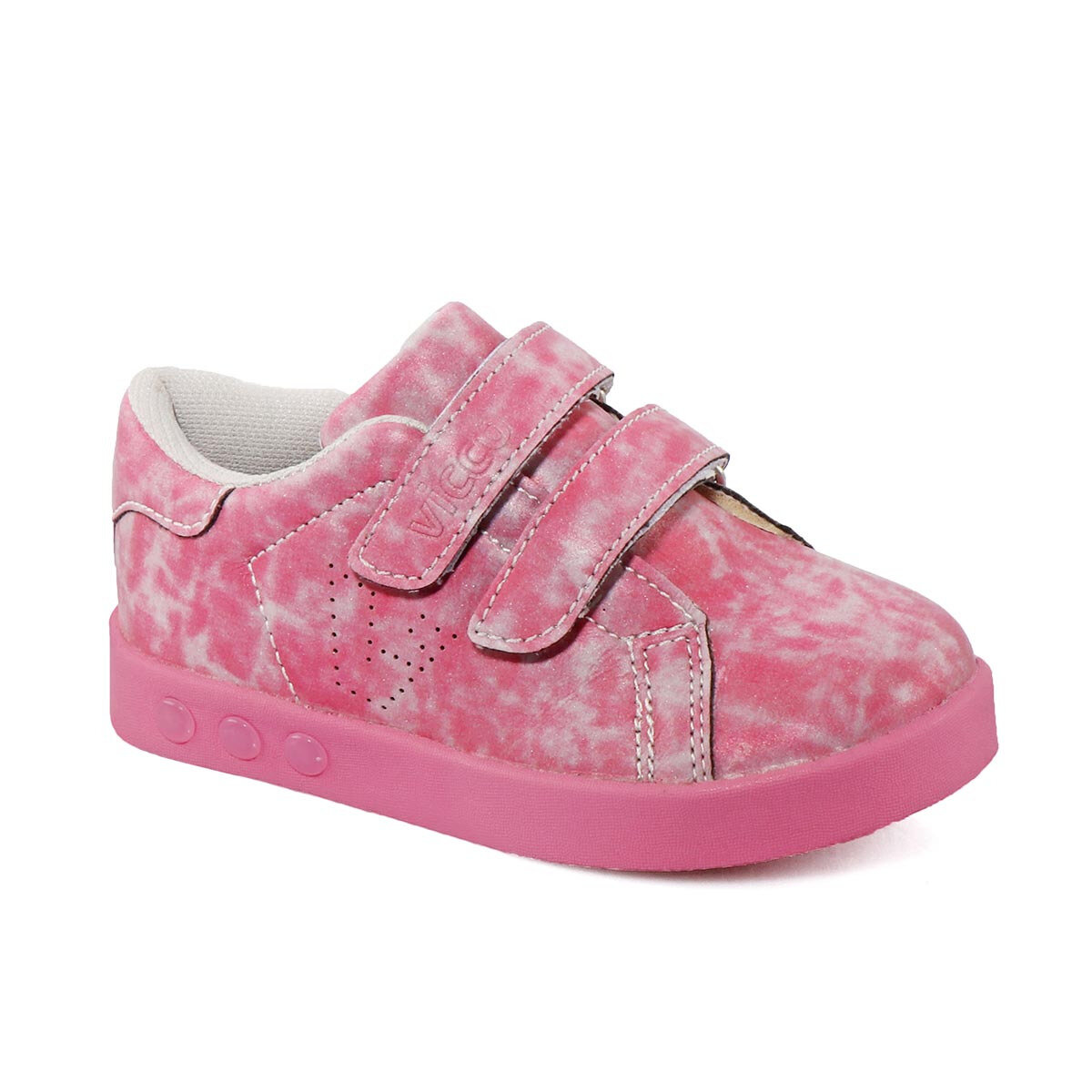 FLO 313.18Y.097 B SPORTS Pink Female Child Sneaker Shoes VICCO
