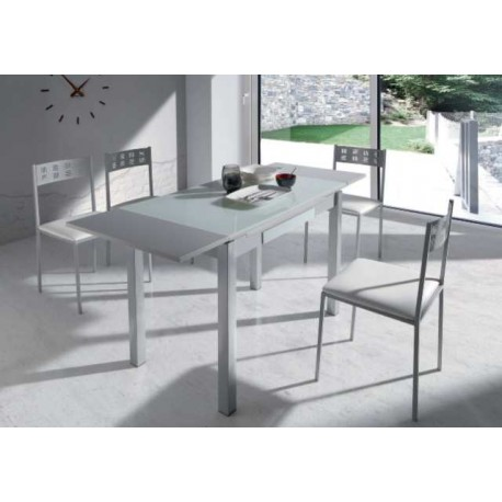 Pack Dining Table Extendable And 4 Chairs