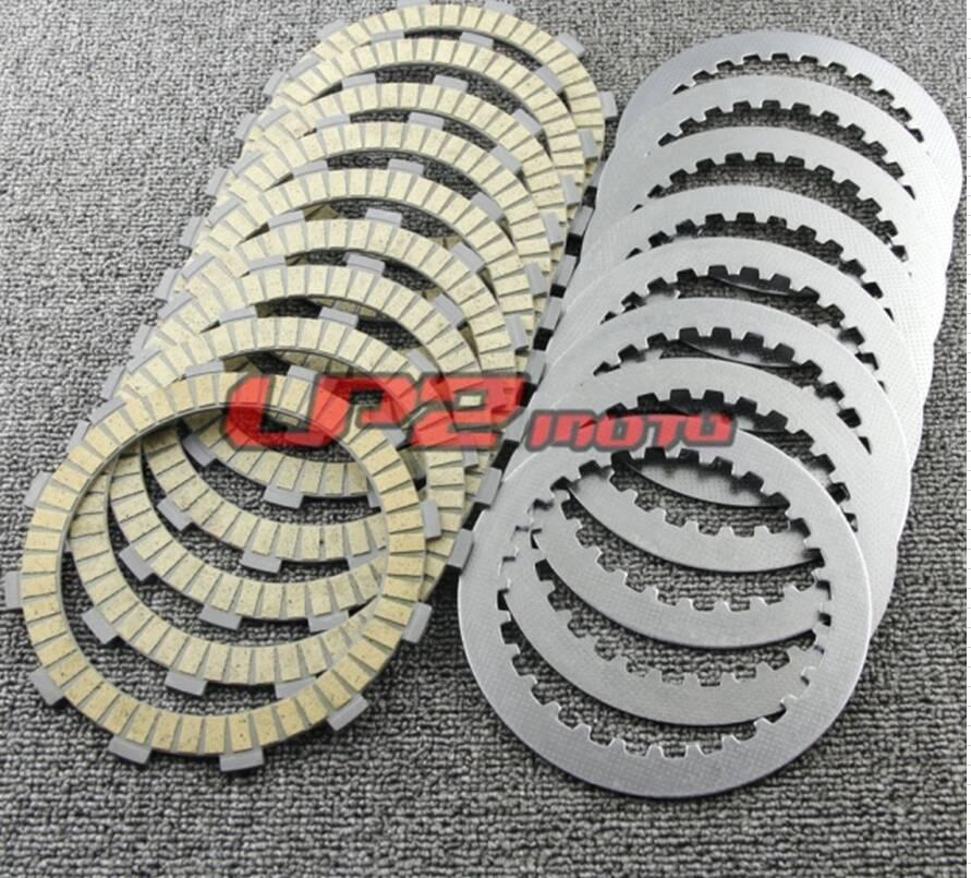 Clutch Plates Discs For Honda VT1100 Shadow ACE Sabre Aero Spirit Tour 95-07 CBR1000F Hurricane 87-96 CBR1000RR Fireblade 08-17