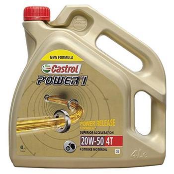 Castrol Power 1 formula mejorada 4t 20w50 4l. (antiguo ACT EVO)