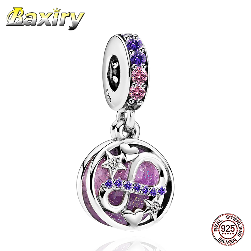 Fine 2020 925 Sterling Silver Charm Beads Fit Pandora  Charms Silver  925 Original Bracelets Pendant For Jewelry Making DIY Gift