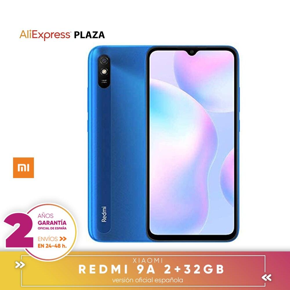 "[Official Spanish guarantee version] Xiaomi Redmi 9A 2GB 32GB smart phone 5000mAh MediaTek Helio G25 6,53 ""HD 13MP"