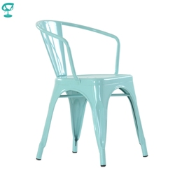 N239RAL Barneo N-239 Metal Kitchen Interior Stool Chair for Street cafe Chair Kitchen Furniture free shipping in Russia
