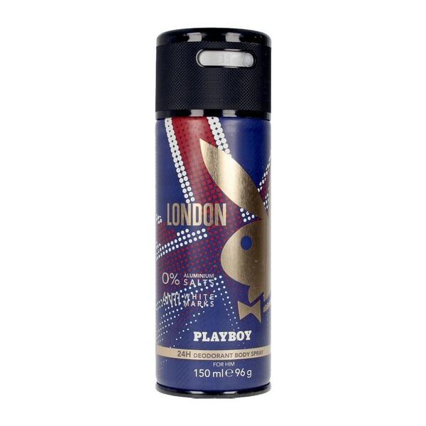 Spray Deodorant London Playboy (150 Ml)