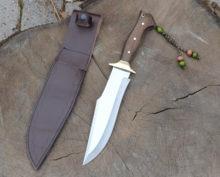 Bushcraft bıçak, keskin , paslanmaz çelik bıçak,tek parça bıçak,yüksek kaliteli, doğa bıçak, garantili, HGPLR50