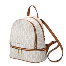Genuine Leather MK Women Backpack First Layer Cow Leather 20