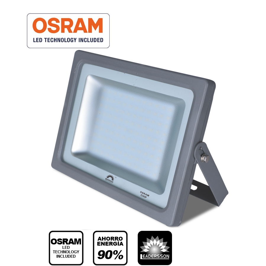 Focus LEADERSSON LED Exterior MERCURY Grey & Middot; Proyector Led Slimline With Chip Indoor OSRAM & Middot; [energy Rating: A + +]