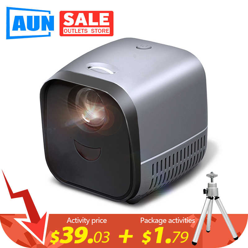 Super MINI Portable Projector L1 | USB LED Proyektor Proyektor Video untuk 1080P Home Theater HDMI USB Media Player high-End Hadiah