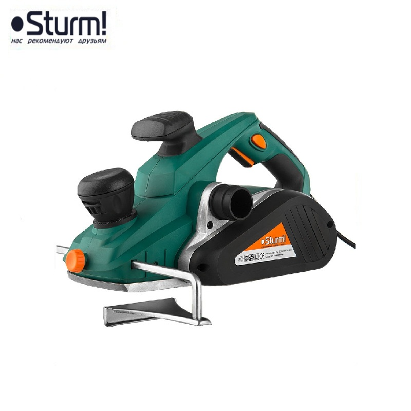 P1015 Planer electric Sturm, 1500 W, width 110 mm, depth 3.5 mm, 15000 rpm, quarter 0-14 mm Joiner's powerful Electric Tool