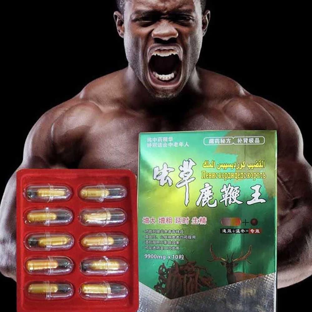 Chaog cao est bénéfique pour la santé physique et mentale et améliore l'herbe dans le plateau 10 capsules/boîte
