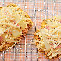 肉食主义的快乐!超大块炸鸡做的「肯德基同款chizza」的做法图解6
