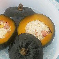 贝贝南瓜蒸饭的做法图解9
