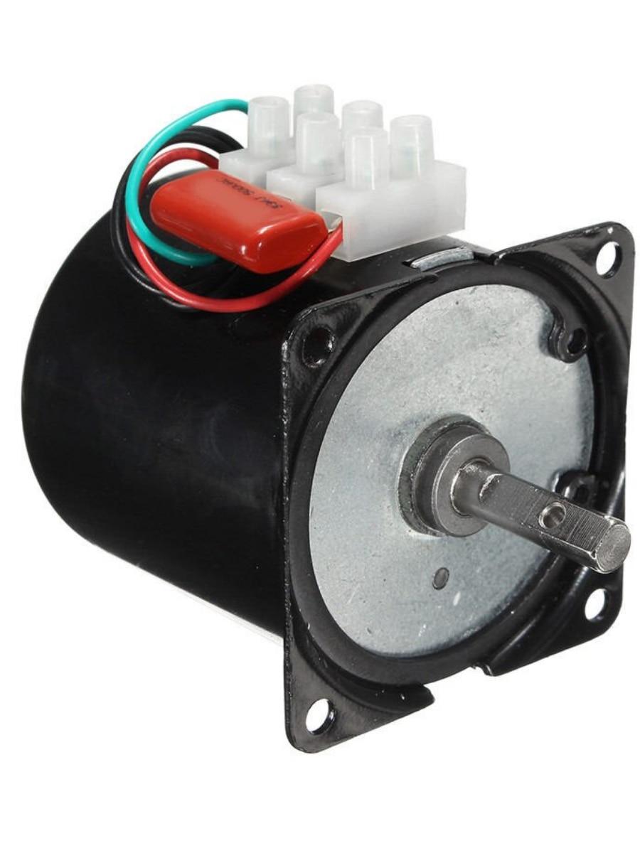 60KTYZ 2,5 оборотов/минуту 50/60 Гц  220 В 14/18 Вт синхронный двигатель переменного тока Мотор Редуктор 2,5  об/мин|Двигатель переменного тока AC|   | АлиЭкспресс