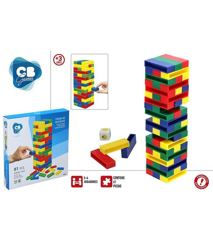Table Game Jenga Color Baby Toy Store Articles Created Handbook