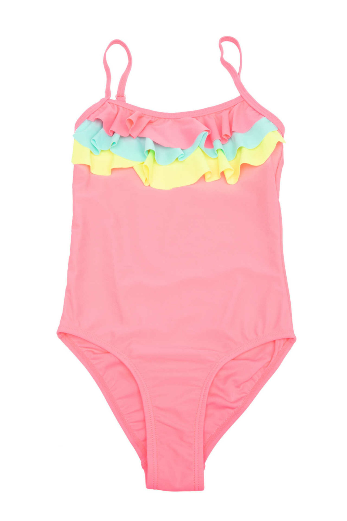 DeFacto Sweet Girl Woven Fashion Swimsuit Pink Kids Sling One-pieces Bikini Comfortable Summer - I3055A618SM