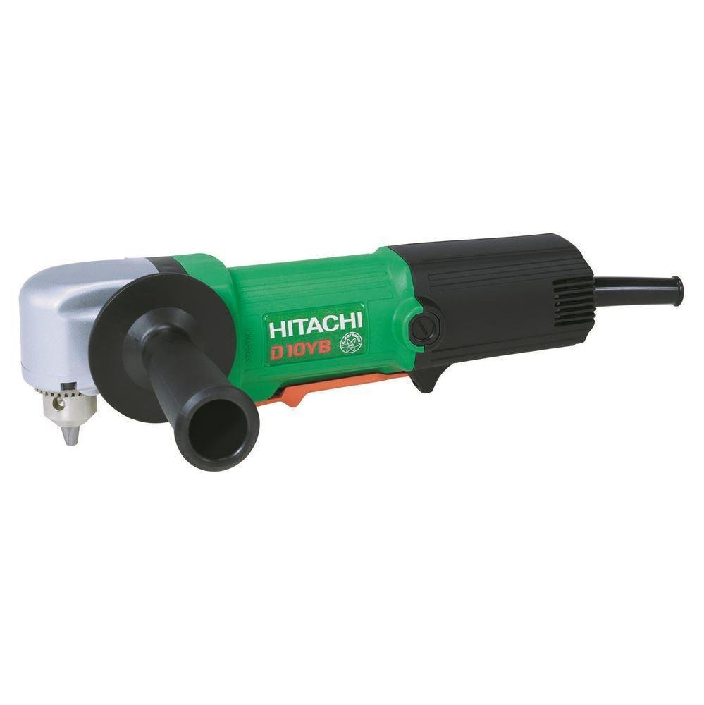 Hitachi D10YB 500Watt 10mm Professional Right Angle Impactless Drill
