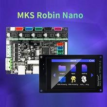 MKS 3D scheda stampante della scheda STM32 MKS Robin Nano bordo di V1.2 Ferramenteria E Attrezzi open source (supporto Marlin2.0) supporto con touch screen da 3.5 pollici
