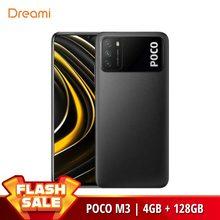 Глобальная версия POCO M3 4 Гб Оперативная память 128 Гб Встроенная память (Фирменная Новинка/герметичные) poco, pocom3, телефон