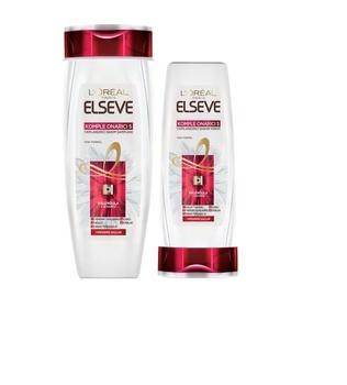 Loreal Elseve kompletna naprawa 5 szampon 550ml + odżywka do włosów 175ml Se 244298174 tanie i dobre opinie